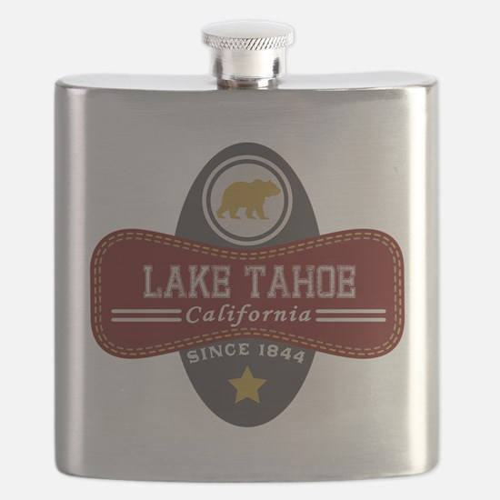 Lake Tahoe Nature Marquis Flask