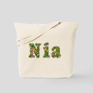 Nia Floral Tote Bag