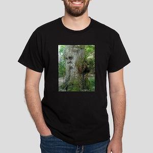 Laughing Green Man Dark T-Shirt