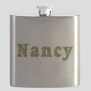 Nancy Floral Flask