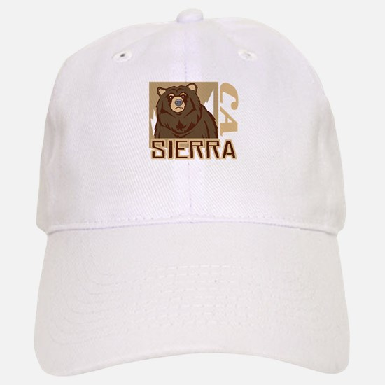Sierra Grumpy Grizzly Baseball Baseball Cap