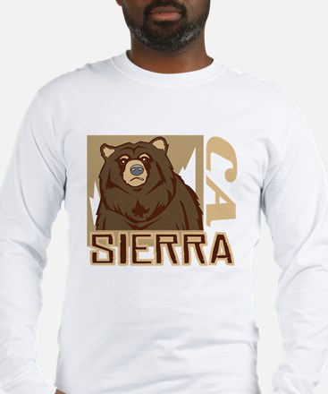 Sierra Grumpy Grizzly Long Sleeve T-Shirt