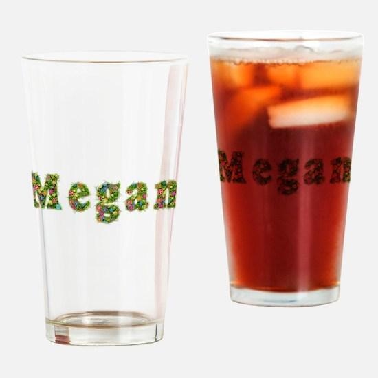 Megan Floral Drinking Glass