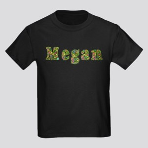 Megan Floral Kids Dark T-Shirt