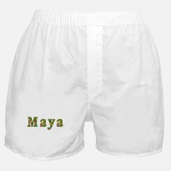 Maya Floral Boxer Shorts
