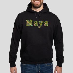 Maya Floral Hoodie (dark)