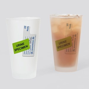 Urine Specimen Label Drinking Glass