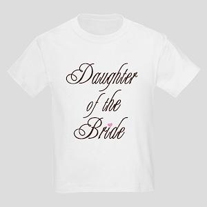 CB Daughter of Bride Kids T-Shirt
