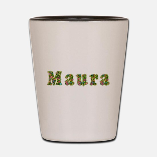 Maura Floral Shot Glass