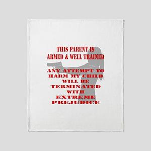 Terminate w/ Prejudice Throw Blanket