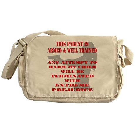 Terminate w/ Prejudice Messenger Bag