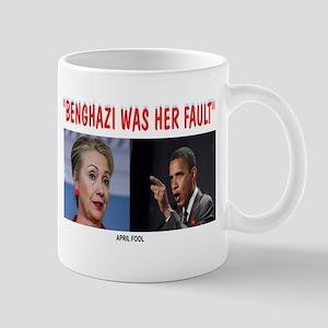 BENGHAZI BLAME Mug