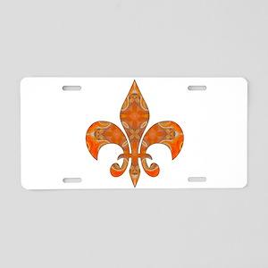 Royalty Fleur De Lys Aluminum License Plate