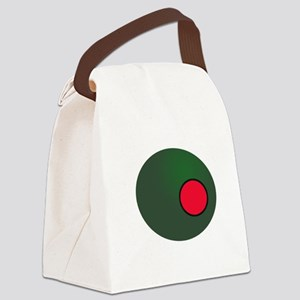 Olive Canvas Lunch Bag