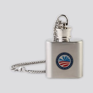 Students For Obama Flask Necklace