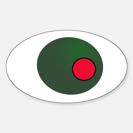 Olive Sticker (Oval)