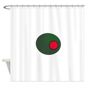 Olive Shower Curtains