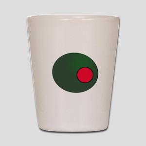 Olive Shot Glass