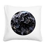 Ball of Feathers Version 1 Square Canvas Pillow