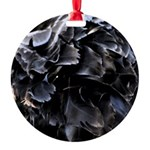Ball of Feathers Version 1 Round Ornament