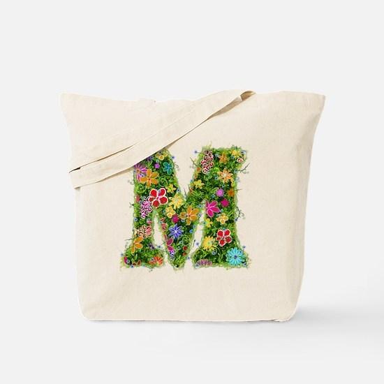 M Floral Tote Bag