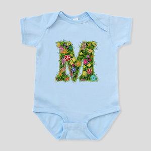 M Floral Infant Bodysuit