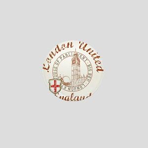 London United Mini Button