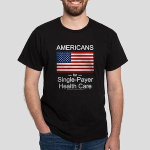 Americans Single Payer Health Dark T-Shirt