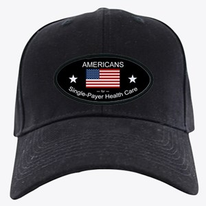 Americans Single Payer Health Black Cap