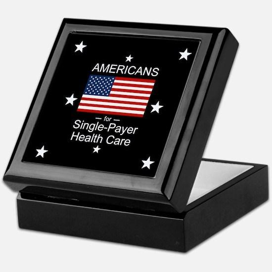Americans Single Payer Health Keepsake Box