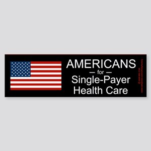 Americans Single Payer Health Bumper Sticker