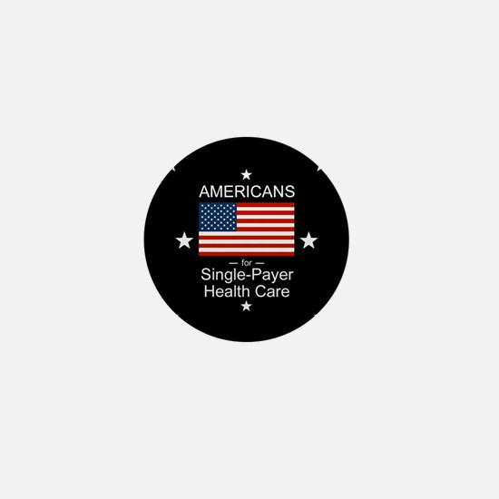Americans Single Payer Health Mini Button