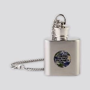 No Planet B Flask Necklace