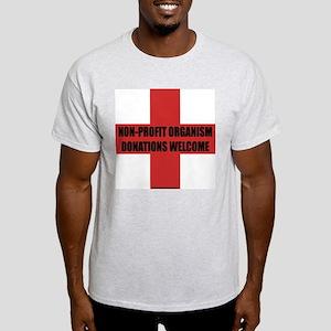 Non-Profit Organism Ash Grey T-Shirt