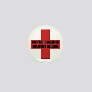Non-Profit Organism Mini Button
