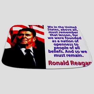 We In The United States - Ronald Reagan Bathmat