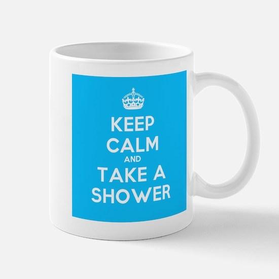 Keep Calm and Take a Shower Mug