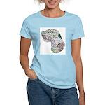 Irish Wolfhound Dogtangle Women's Light T-Shirt