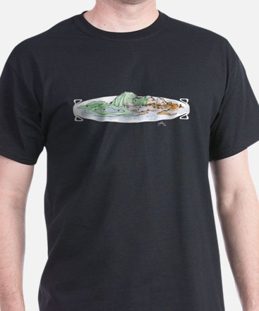 Ophelia In The Water T-Shirt