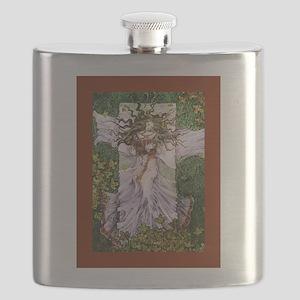 Fairy Tale Sleeping Woman Flask
