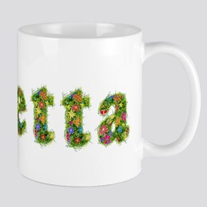 Loretta Floral Mug