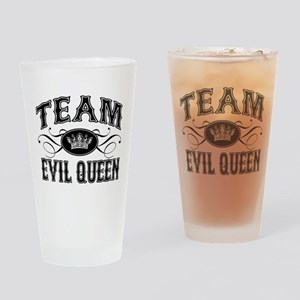Team Evil Queen Drinking Glass