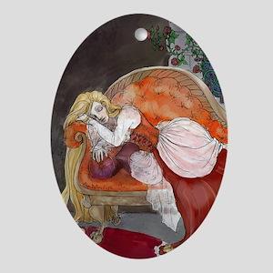 Briar Rose Ornament (Oval)