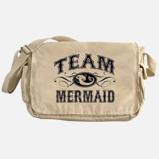 Team Mermaid Messenger Bag