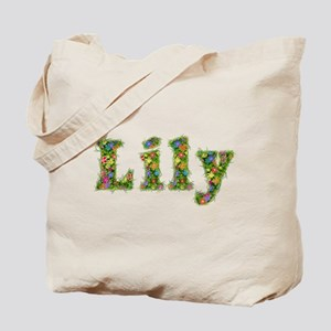 Lily Floral Tote Bag
