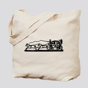 Princess Carriage Tote Bag