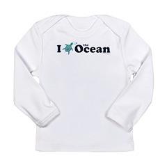 I Turtle the Ocean! Long Sleeve T-Shirt