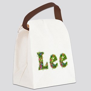 Lee Floral Canvas Lunch Bag