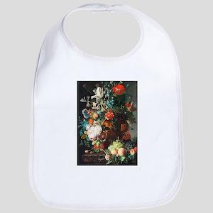 Jan Van Huysum Flower Bouquet Bib