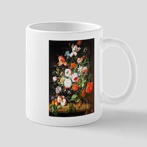 Rachel Ruysh Flower Bouquet Mug